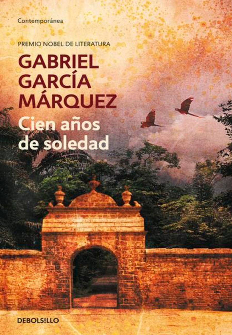 Portada 100 AÑOS DE SOLEDAD- Gabriel García Márquez